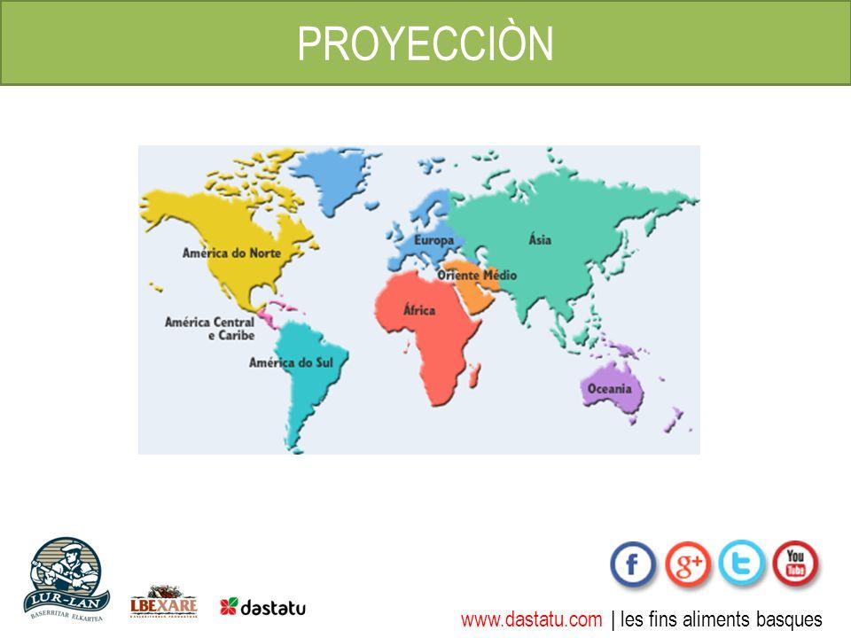www.dastatu.com | les fins aliments basques PROYECCIÒN