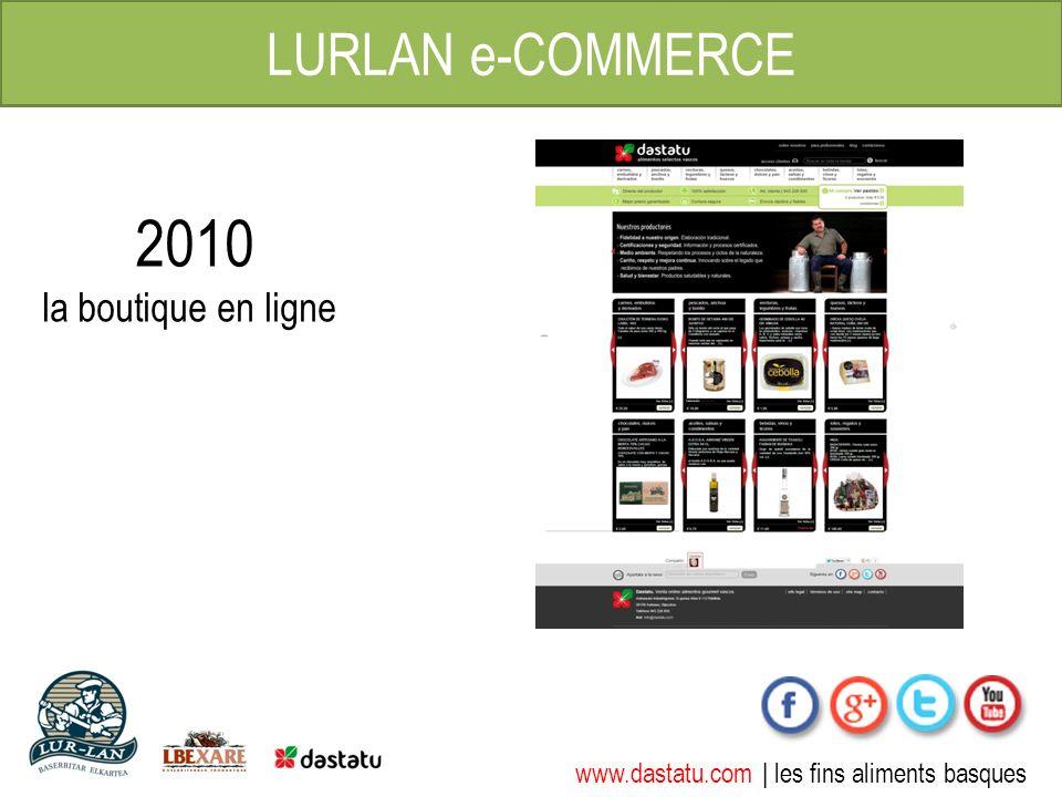 www.dastatu.com | les fins aliments basques LURLAN e-COMMERCE 2010 la boutique en ligne