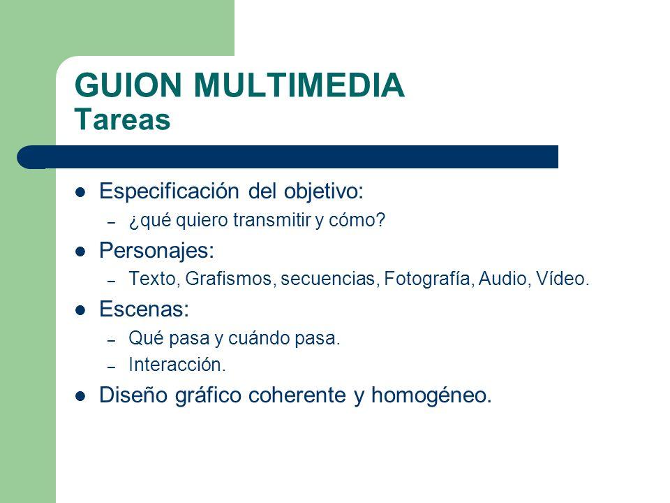 DESARROLLO Búsqueda de contenidos – Texto, grafismo, fotografía, audio, vídeo.