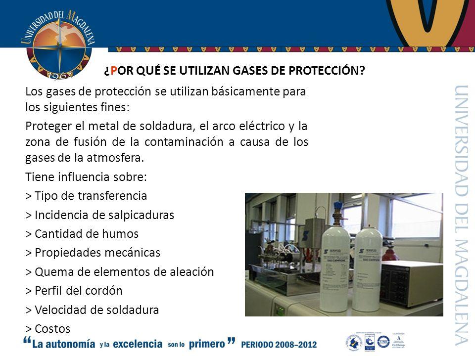 ¿POR QUÉ SE UTILIZAN GASES DE PROTECCIÓN.