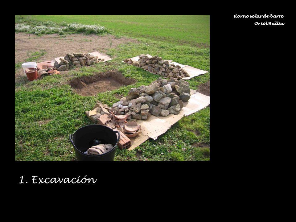 1. Excavación Horno solar de barro Oriol Balliu