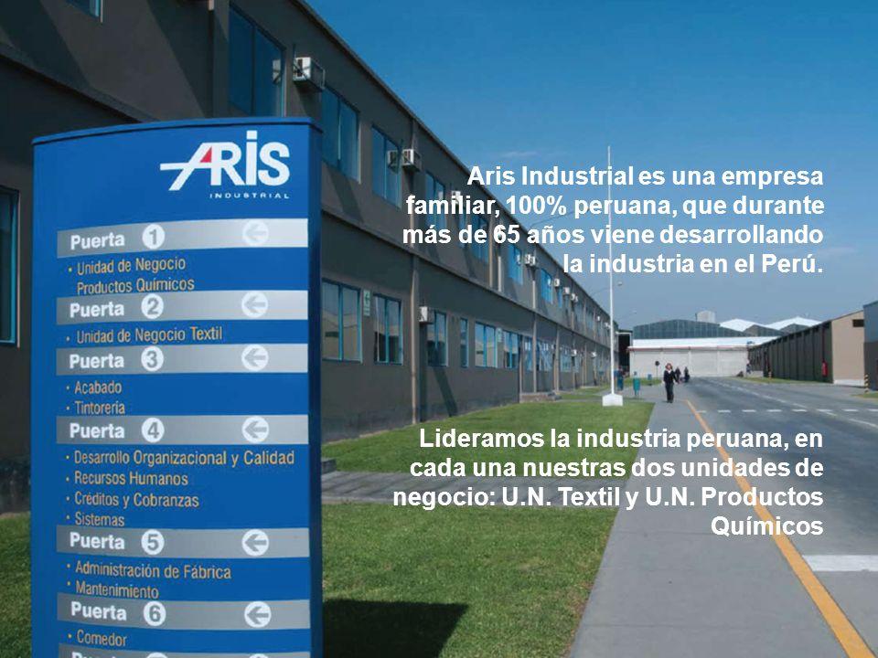 Aris Industrial es una empresa familiar, 100% peruana, que durante más de 65 años viene desarrollando la industria en el Perú.