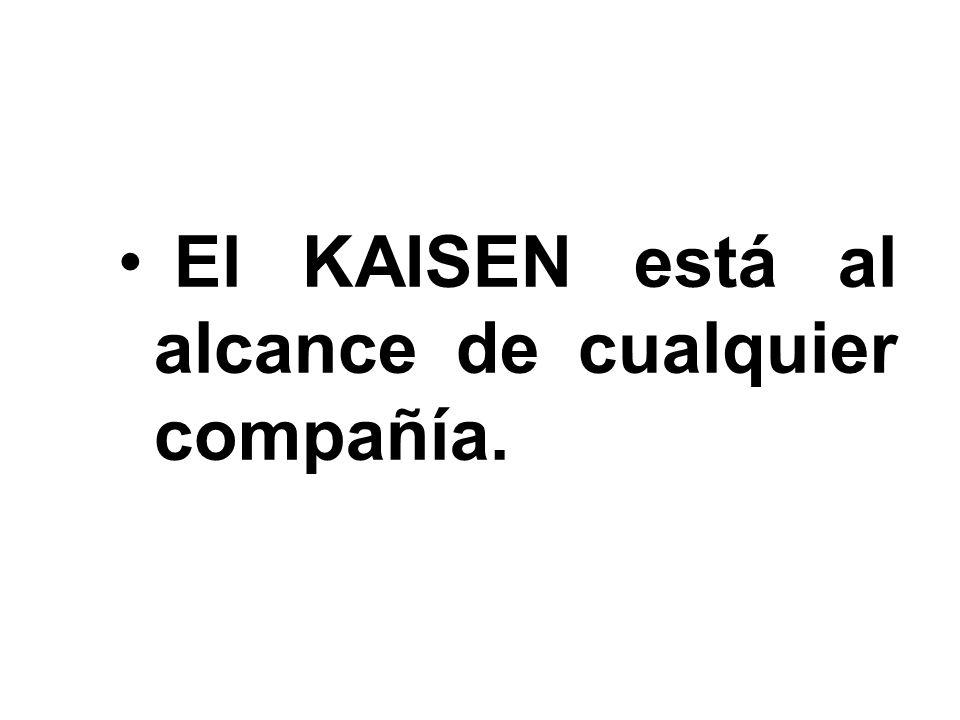 29 El KAISEN está al alcance de cualquier compañía.