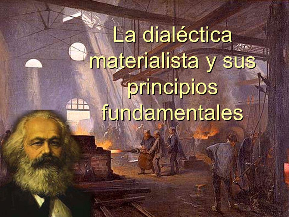 La dialéctica materialista y sus principios fundamentales