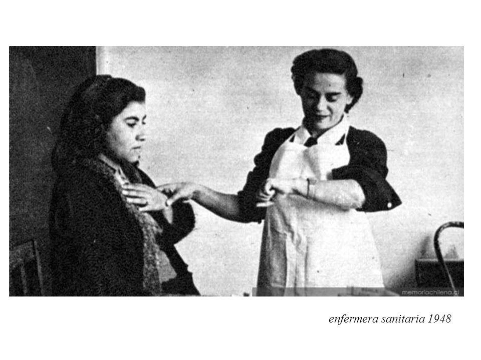enfermera sanitaria 1948