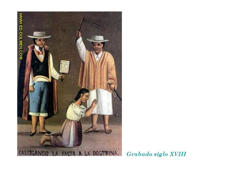 Grabado siglo XVIII
