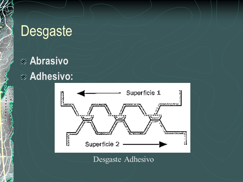 Desgaste Abrasivo Adhesivo: Desgaste Adhesivo