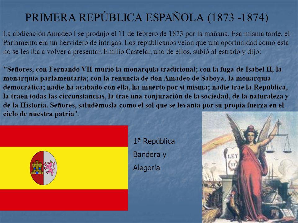 REINADO DE AMADEO I (1871 - 1873) Durante el reinado de Amadeo I hubo que hacer frente a: * El desencadenamiento de la Tercera Guerra Carlista * La gu