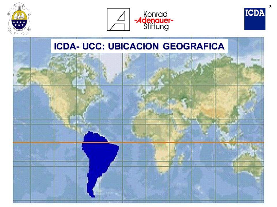 ICDA- UCC: UBICACION GEOGRAFICA 4