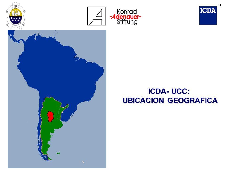 CONTENIDOS DE LA EXPOSICION è CONTEXTO HISTORICO ARGENTINO ARGENTINO è REFORMA ESTRUCTURAS DEL ESTADO ESTADO è EL MUNICIPIO EN EL CENTRO DE LOS CAMBIOS LOS CAMBIOS è LABOR INSTITUCIONAL ICDA- FKA ICDA- FKA è CONCLUSIONES Y PERSPECTIVA GLOBAL GLOBAL 5