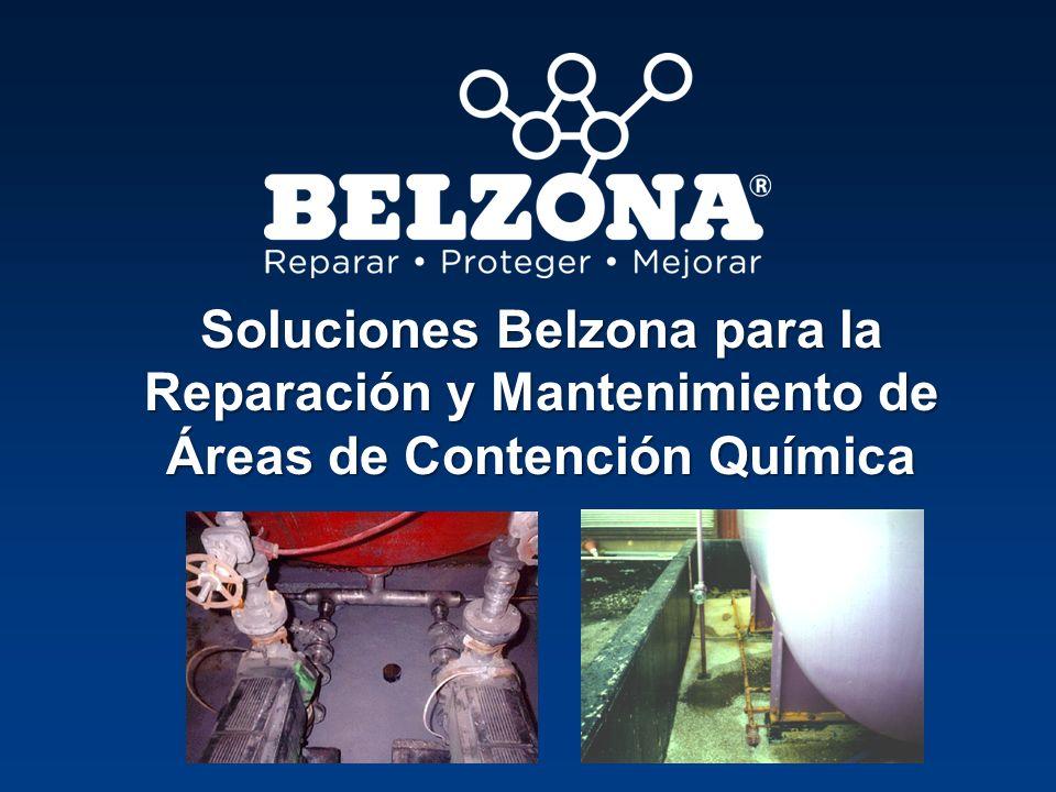 Soluciones Belzona para la Reparación y Mantenimiento de Áreas de Contención Química