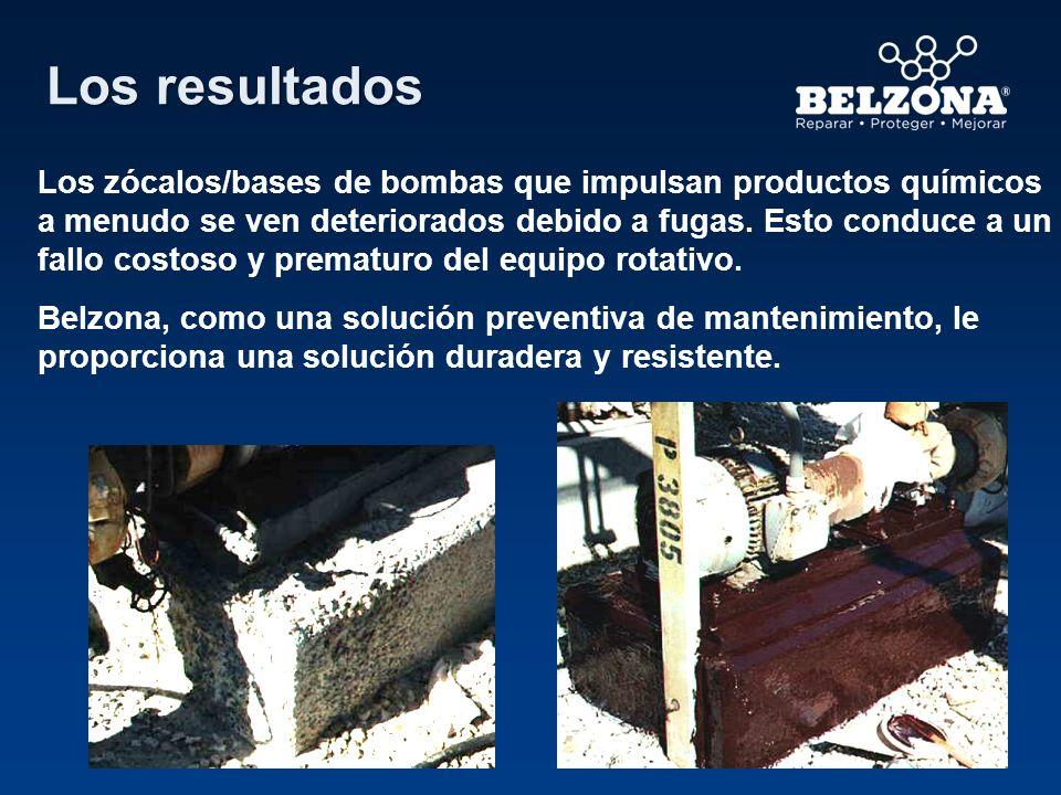 Los resultados Los zócalos/bases de bombas que impulsan productos químicos a menudo se ven deteriorados debido a fugas. Esto conduce a un fallo costos