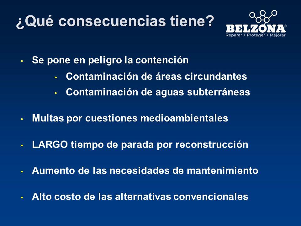 Cliente – Empresa municipal de aguas Situación de aplicación – Nueva área de contención química Problema – El área de contención de concreto necesitaba resistir ácido fosfórico al 75%.