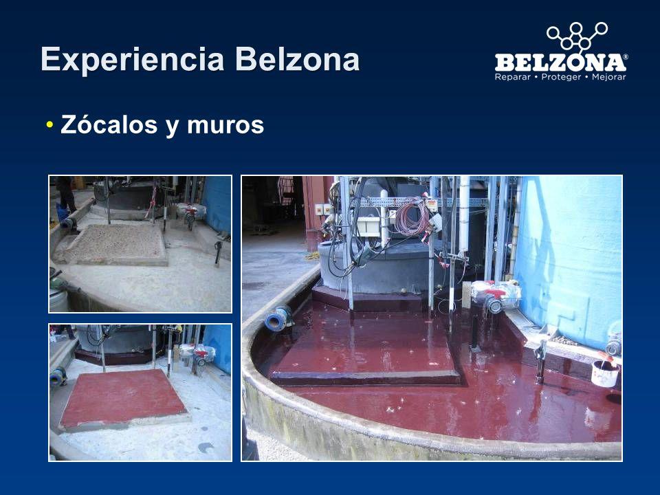 Cliente – Destilería (Área de contención 2) Situación de aplicación– Área de contención química Problema – Filtraciones de aceite en el área de contención de concreto a través de pisos y paredes.