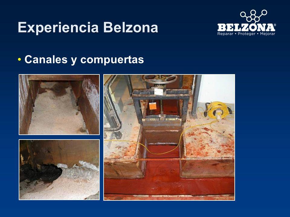 Experiencia Belzona Canales y compuertas