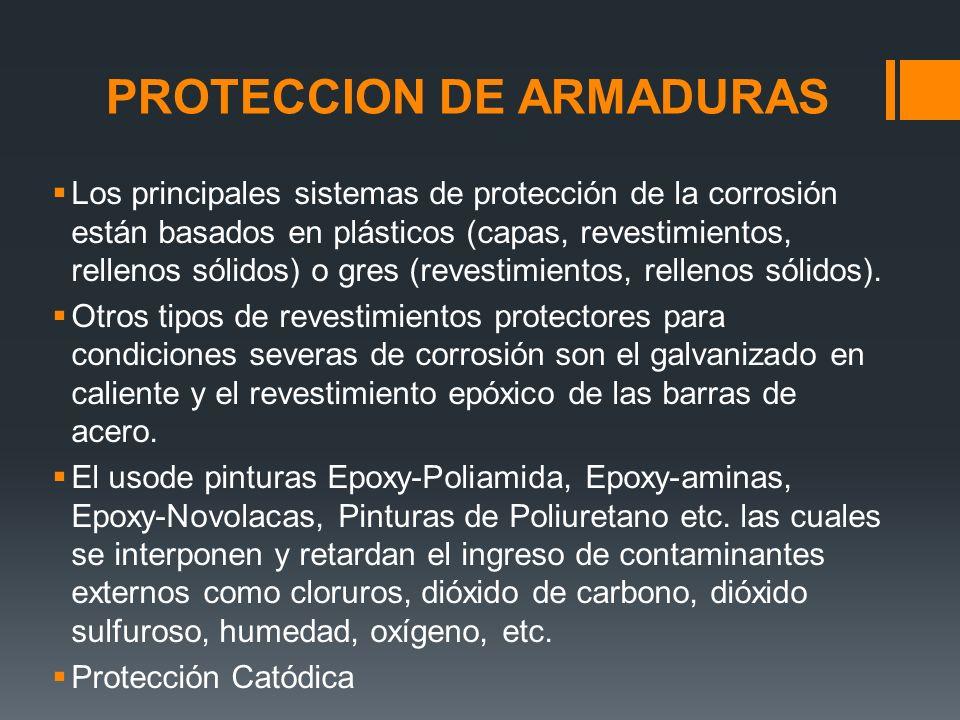 Los principales sistemas de protección de la corrosión están basados en plásticos (capas, revestimientos, rellenos sólidos) o gres (revestimientos, rellenos sólidos).