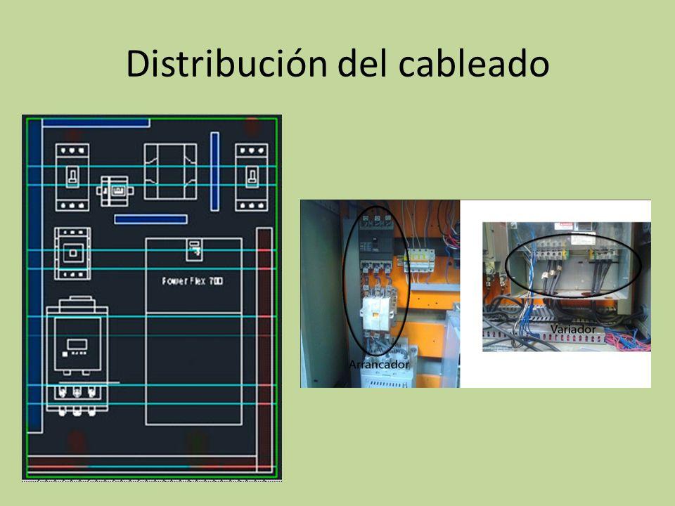 Distribución del cableado