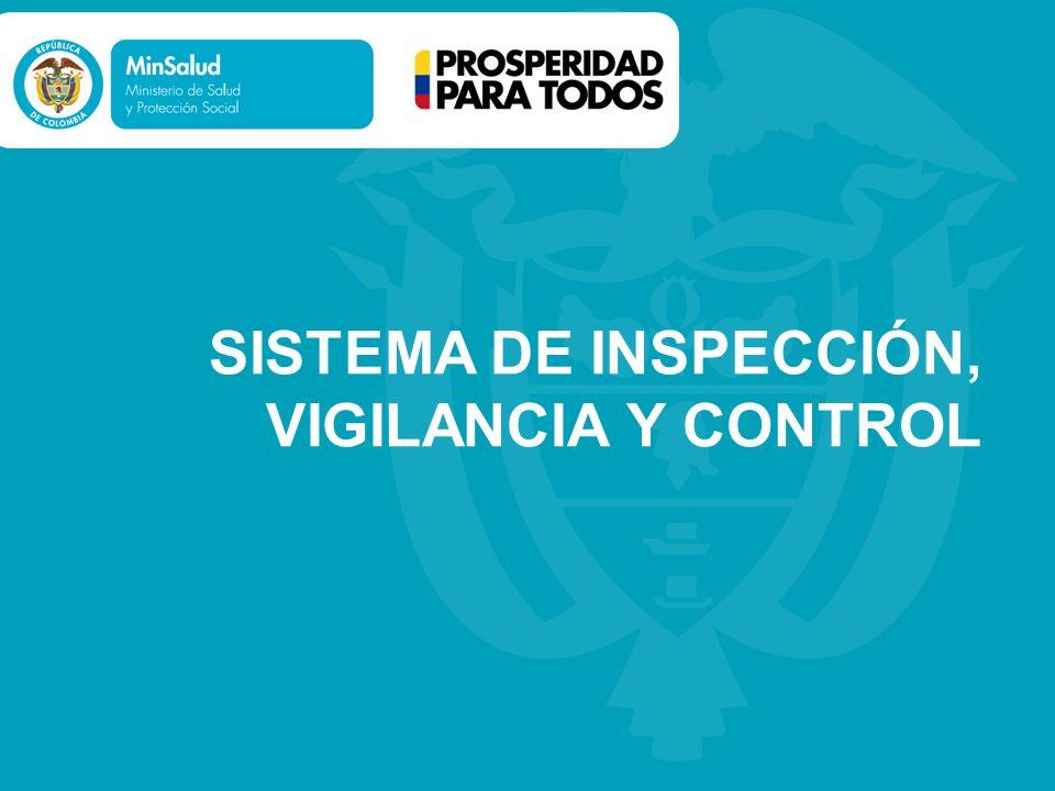 SISTEMA DE INSPECCIÓN, VIGILANCIA Y CONTROL