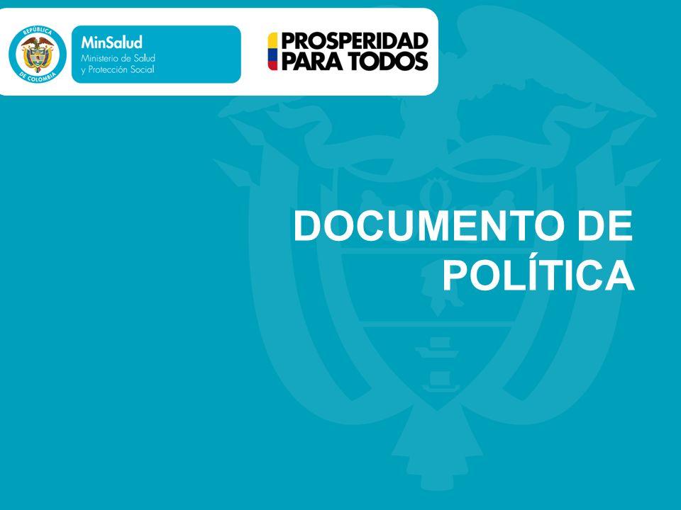 DOCUMENTO DE POLÍTICA
