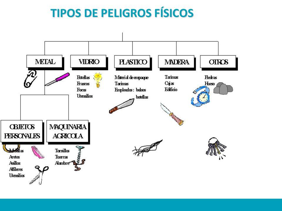 TIPOS DE PELIGROS FÍSICOS