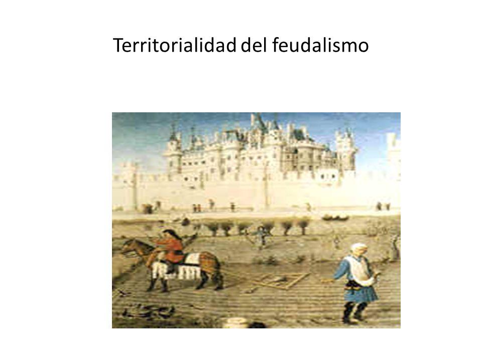 Territorialidad del feudalismo