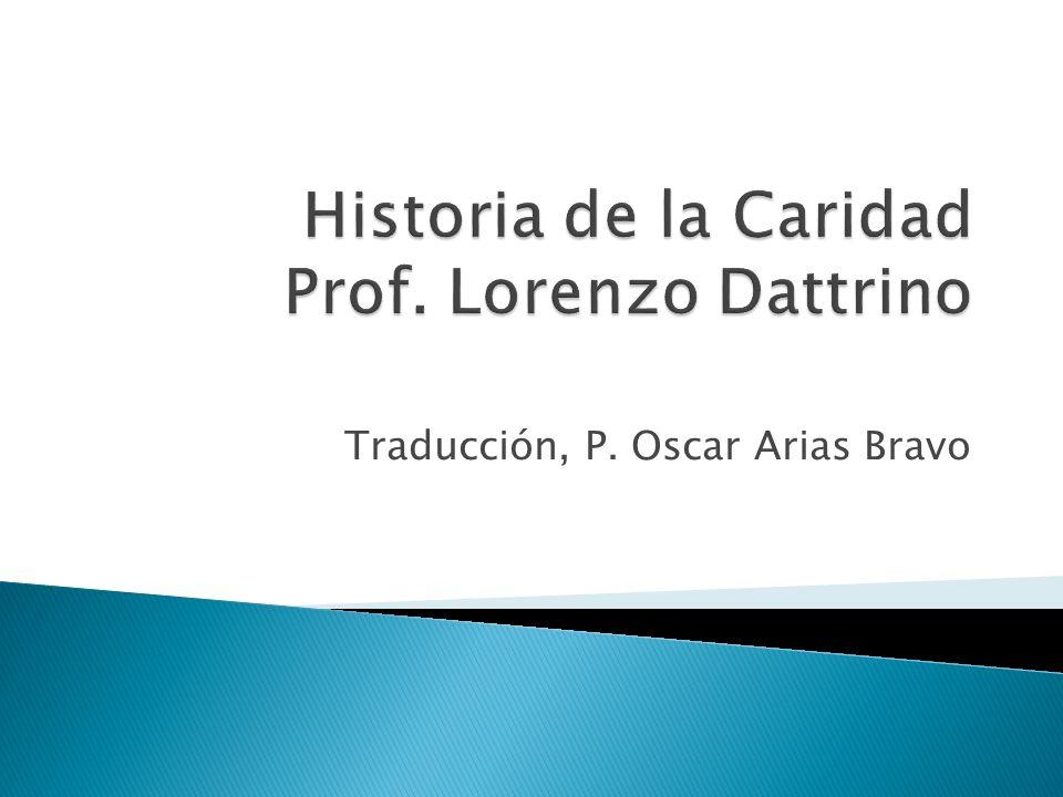 Traducción, P. Oscar Arias Bravo