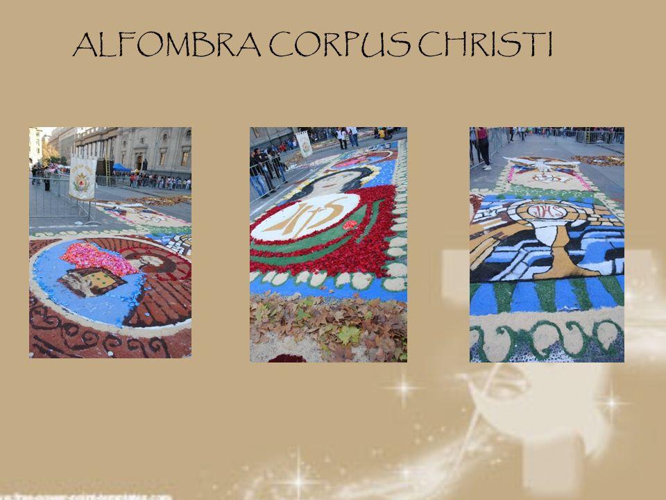 ALFOMBRA CORPUS CHRISTI