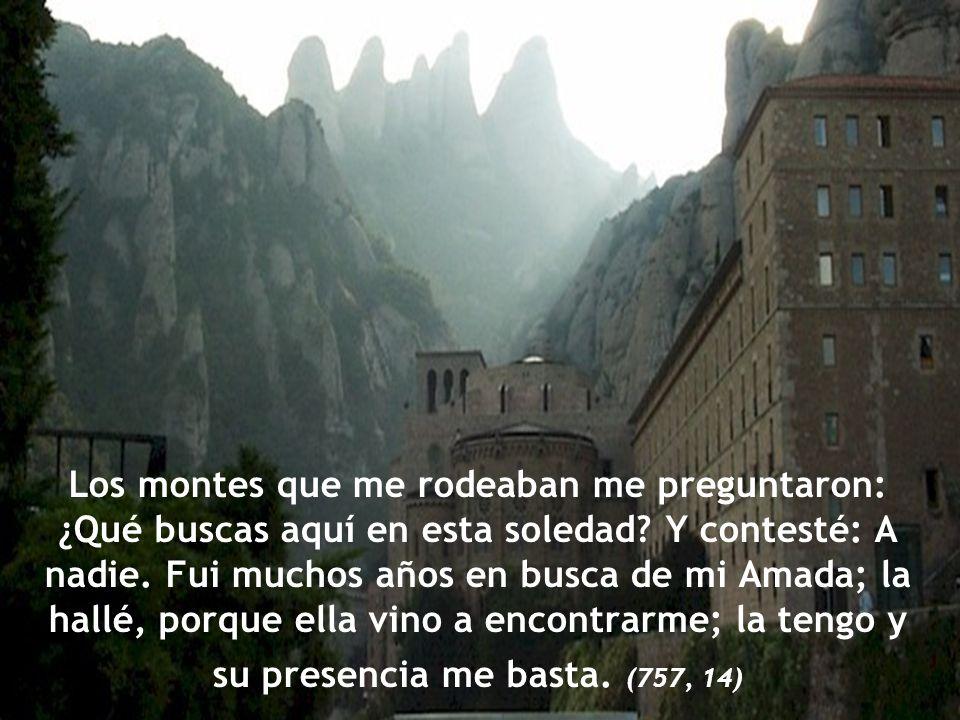 Estaba yo en el monte santo en paz y reposo. Mis vistas se dirigían hacia una Virgen infinitamente bella. (757, 14)