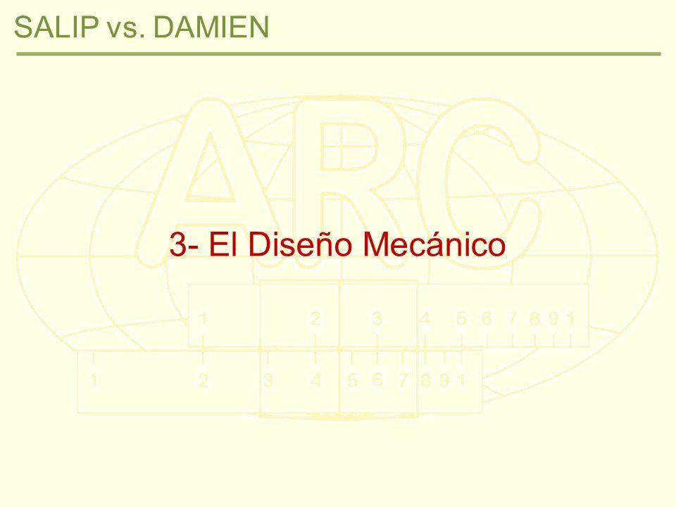 3- El Diseño Mecánico SALIP vs. DAMIEN