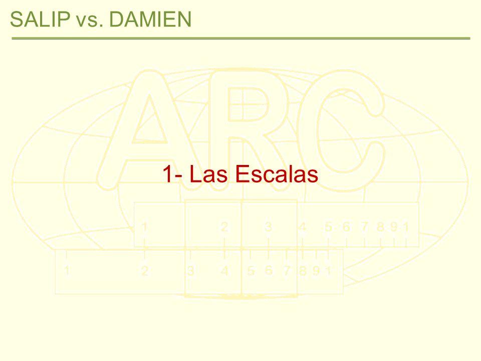 1- Las Escalas SALIP vs. DAMIEN