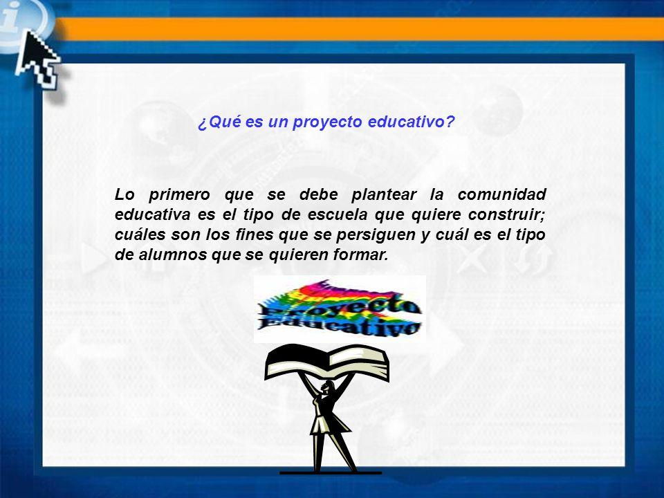 El proyecto se debe elaborar por : - Consejo técnico escolar - Recogiendo las inquietudes y aspiraciones de la comunidad educativa.