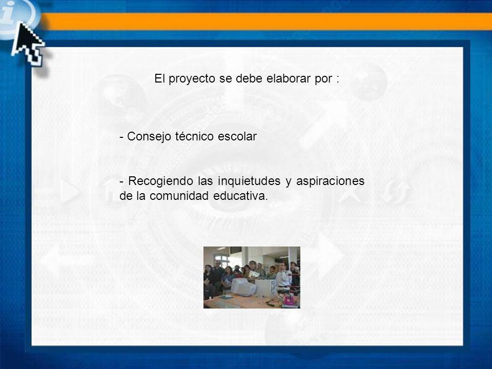 Proyecto es: - Una intención - Un proceso racional expresado en un conjunto de especificaciones, diagramas y esquemas.