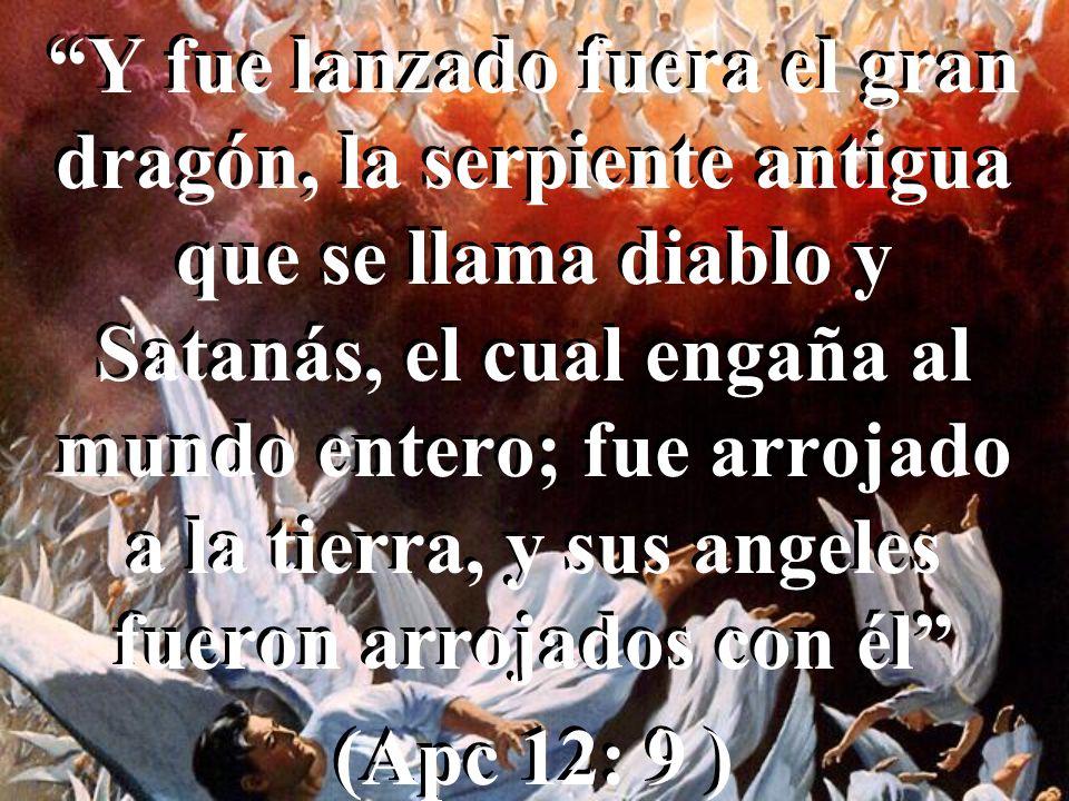 EL GRAN CONFLICTO Después hubo una gran batalla en el cielo: Miguel y sus ángeles luchaban contra el dragón; y luchaban el dragón y sus ángeles; pero