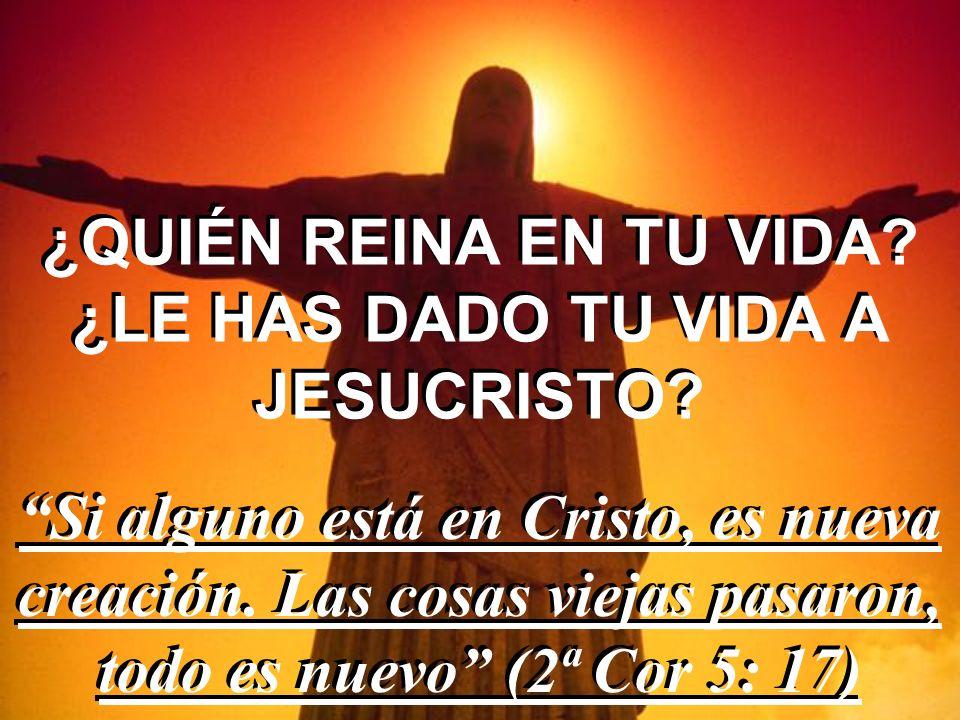 DIOS MI REY Digno eres... Porque tú fuiste inmolado, y con tu sangre nos has redimido para Dios... (Apc 5: 9)