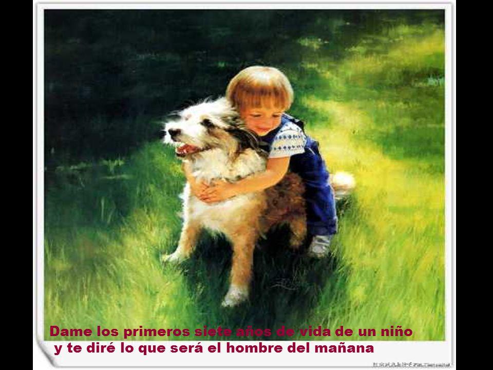 Aquel que no es capaz de comunicarse con un ni ñ o, no es capaz de comunicarse con nadie...