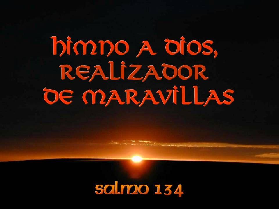 Bendito sea en Sión el Señor, que habita en Jerusalén.