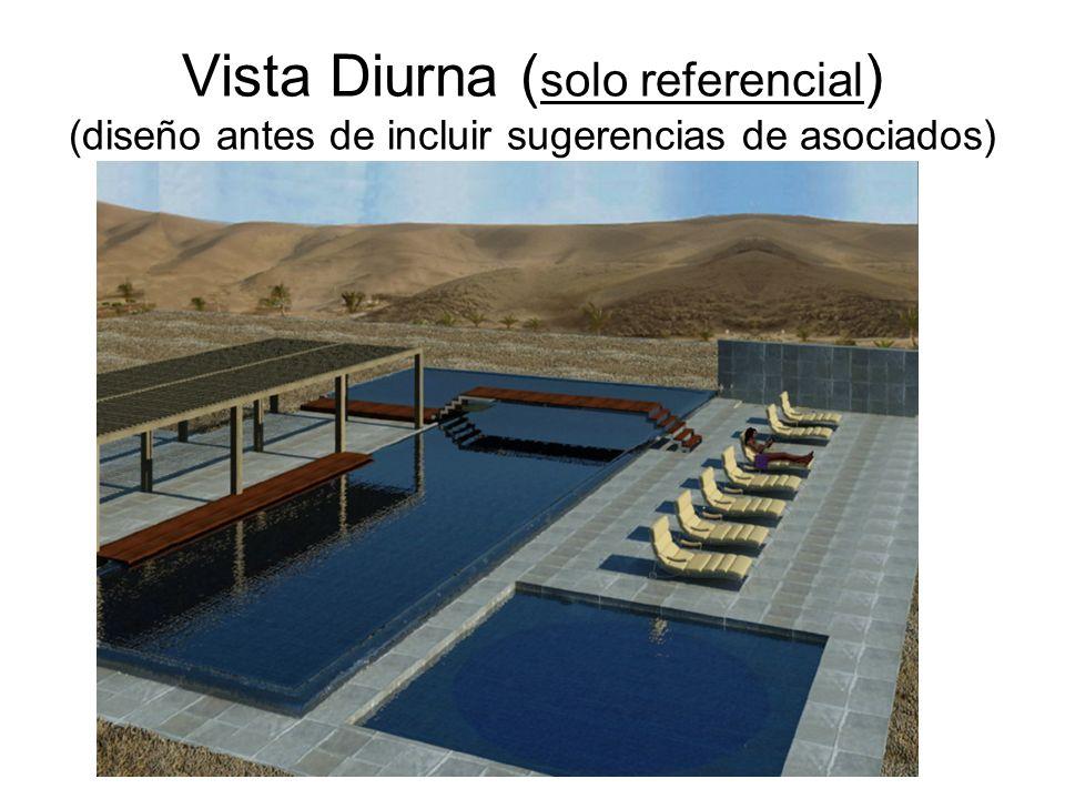 Vista Diurna ( solo referencial ) (diseño antes de incluir sugerencias de asociados)