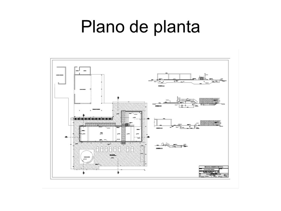Plano de planta