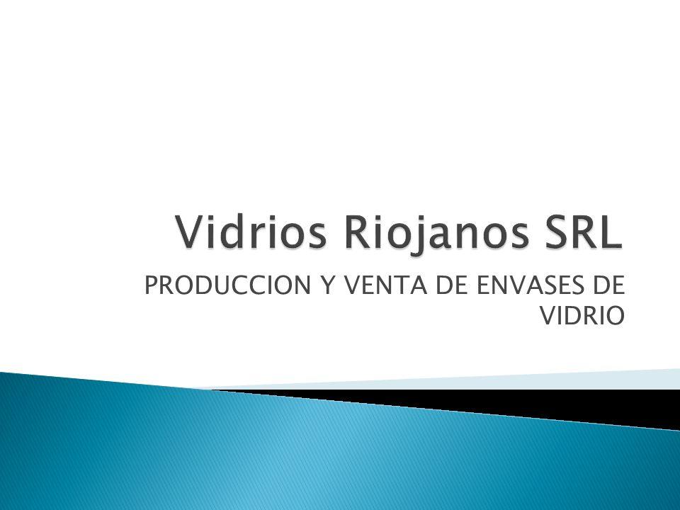 PRODUCCION Y VENTA DE ENVASES DE VIDRIO