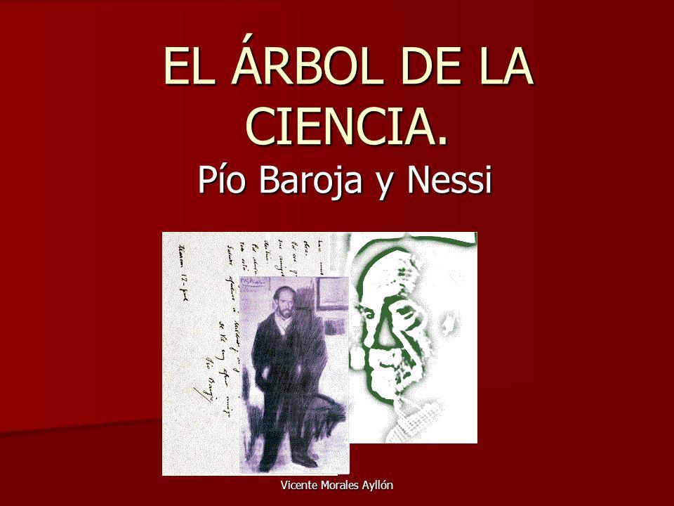 Vicente Morales Ayllón Introducción: Pío Baroja (San Sebastián,1872) Estudió y terminó la carrera de medicina ejerciéndola durante poco tiempo pues pronto notó su vocación de escritor, dedicándose por completo a la literatura hasta su muerte en 1956.