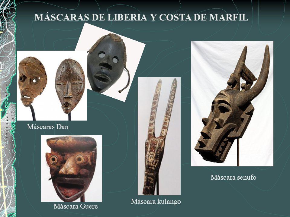 Máscara de antepasado.Baule.