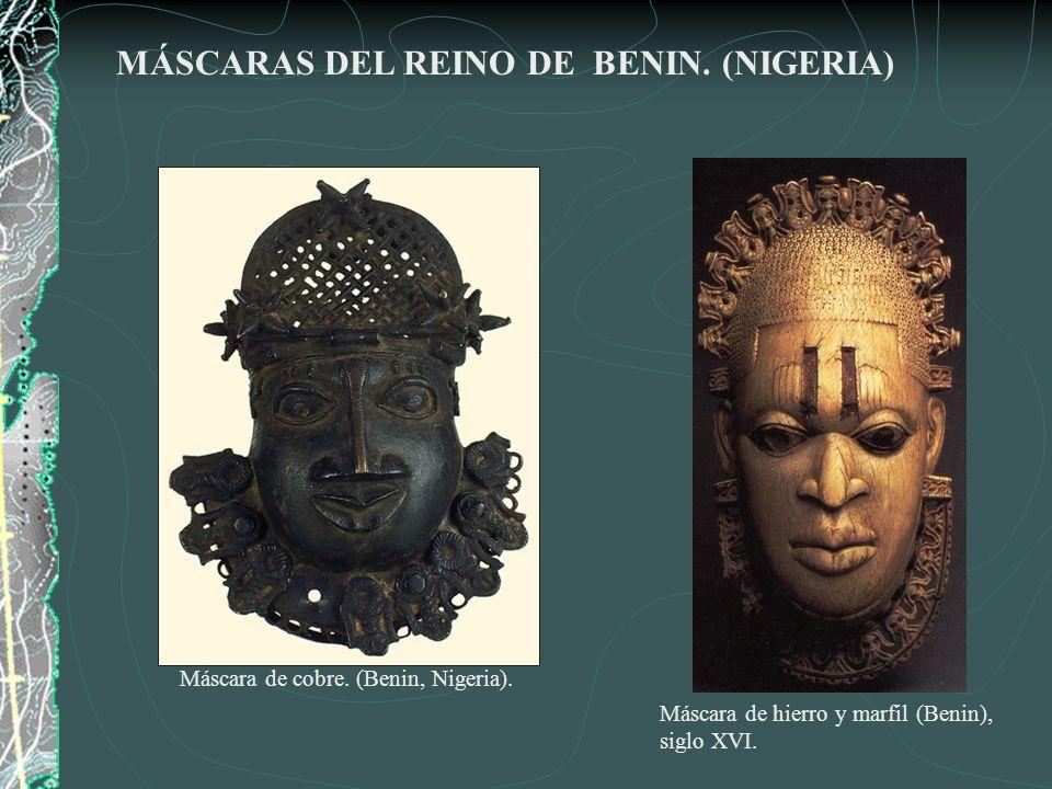 MÁSCARAS DE NIGERIA Máscara Yoruba Máscara Idoma Máscara Funeraria Ibo.
