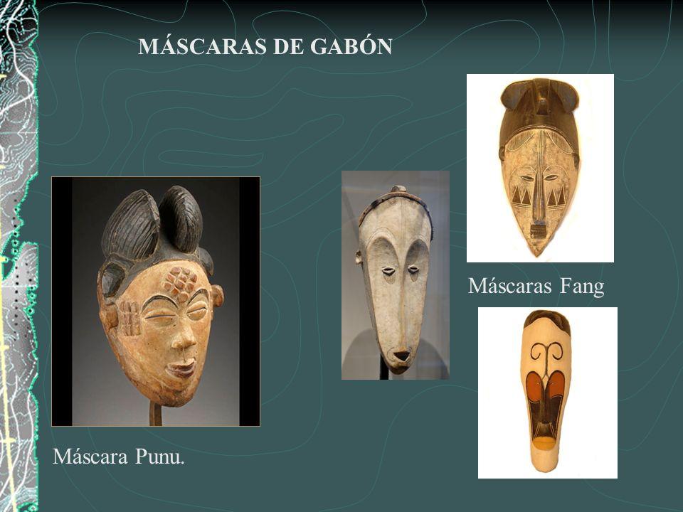 Máscaras de ritos Zulú.