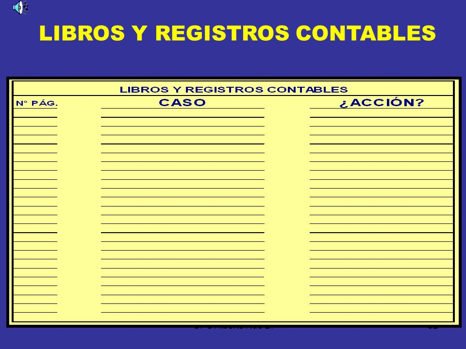 CPC Alberto Nué B.61 DISPOSICIÓN TRANSITORIA OPCIÓN DE LOS LIBROS Y REGISTROS Los deudores tributarios podrán optar por llevar sus libros y registros