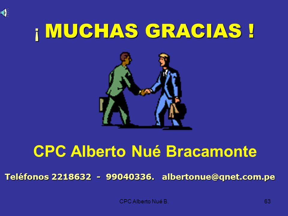 CPC Alberto Nué B.62 LIBROS Y REGISTROS CONTABLES