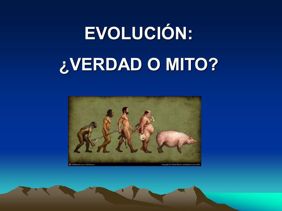 EVOLUCIÓN: ¿VERDAD O MITO?