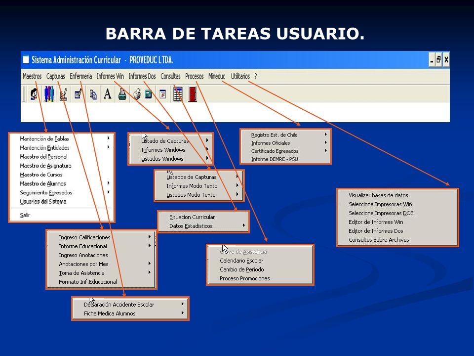 BARRA DE TAREAS USUARIO.