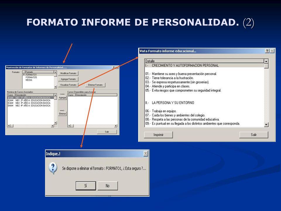 (2) FORMATO INFORME DE PERSONALIDAD. (2)