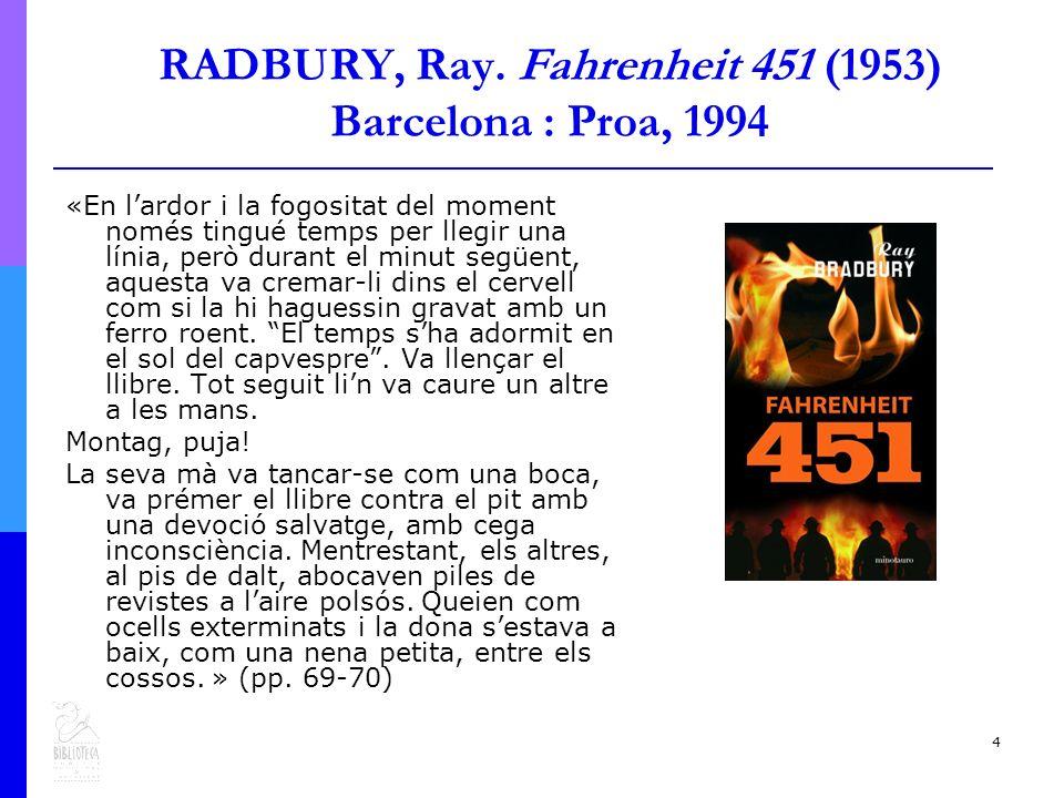 4 RADBURY, Ray.