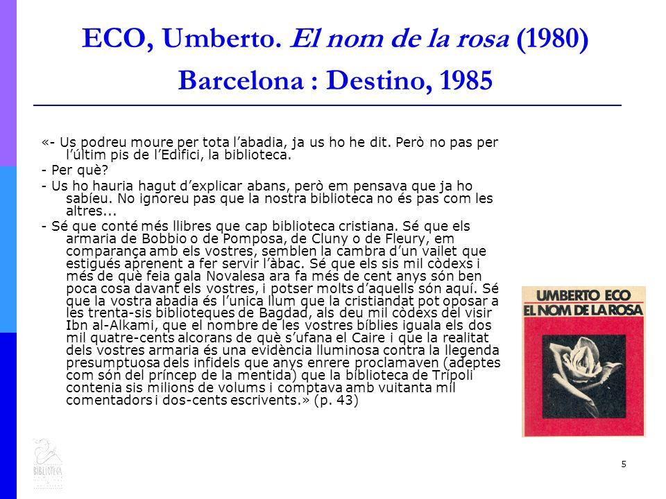 5 ECO, Umberto.
